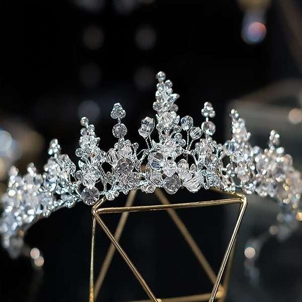 Swarovski Crystal bridal crown tiara