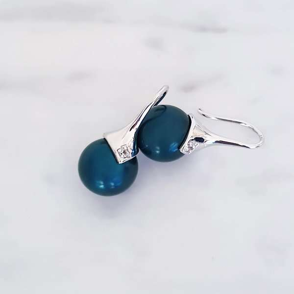 Pantone 2020 Classic Blue earrings