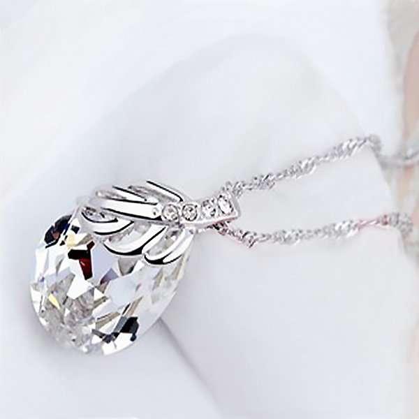 Bridal necklace, bridal jewellery, bridesmaid crystal necklace