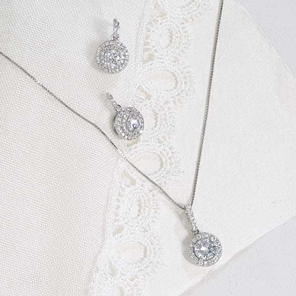 Classic Bridal jewellery set