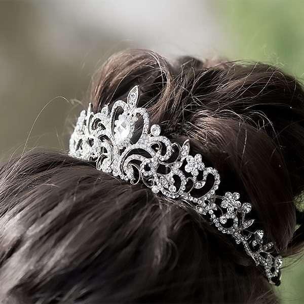 bridal crown, debutante tiara