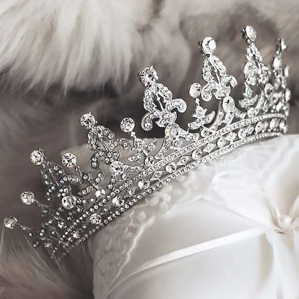 bridal crown, wedding tiara