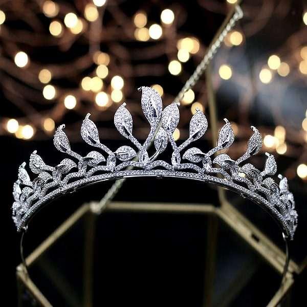 Wedding crown, bridal crown, tiara