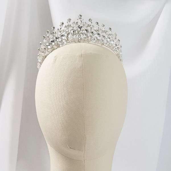 Crystal bridal crown