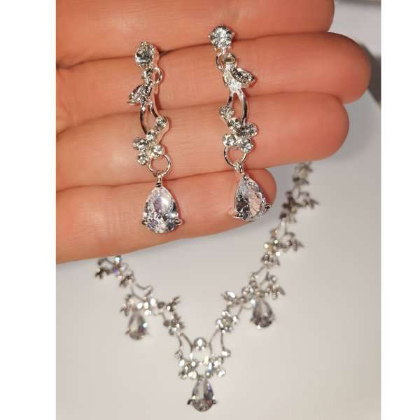 Bridal crystal set