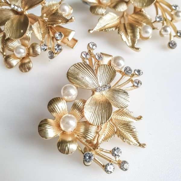 Swarovski crystal hairpins