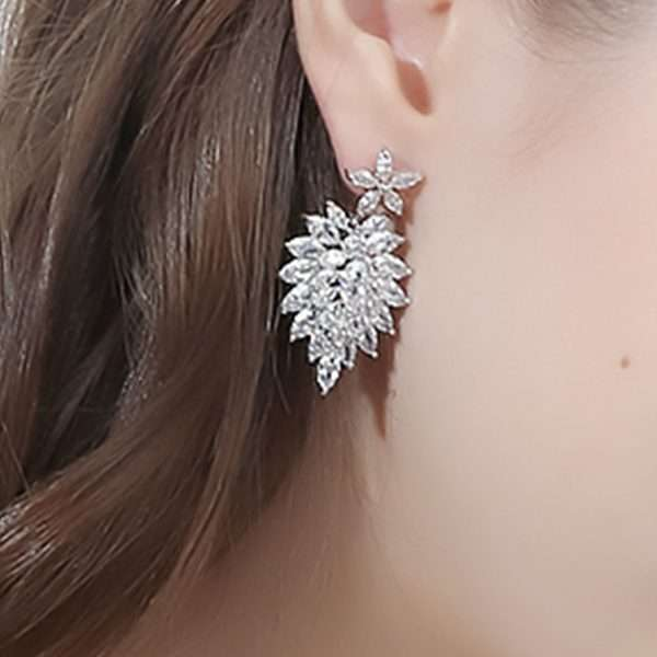 Crystal Bridal earrings from the uSA