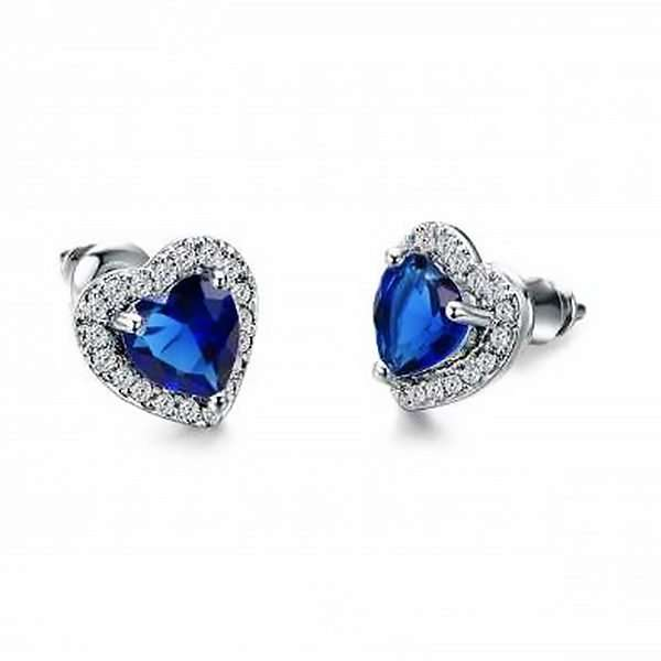 Wedding party earrings something borrowed something blue