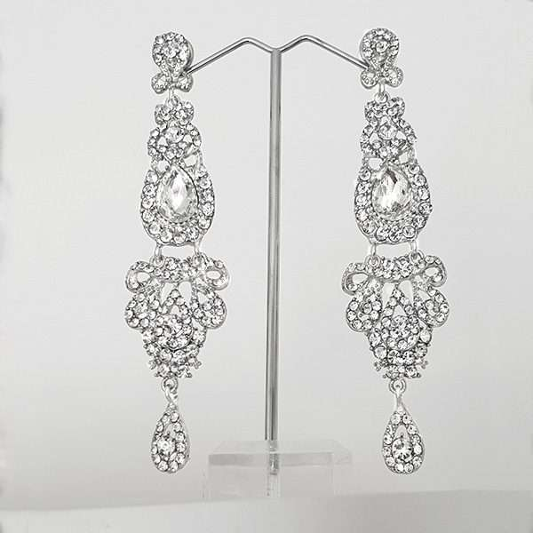 Long drop dangle earrings