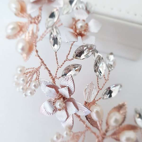 Hair vine for the bride or bridesmaid