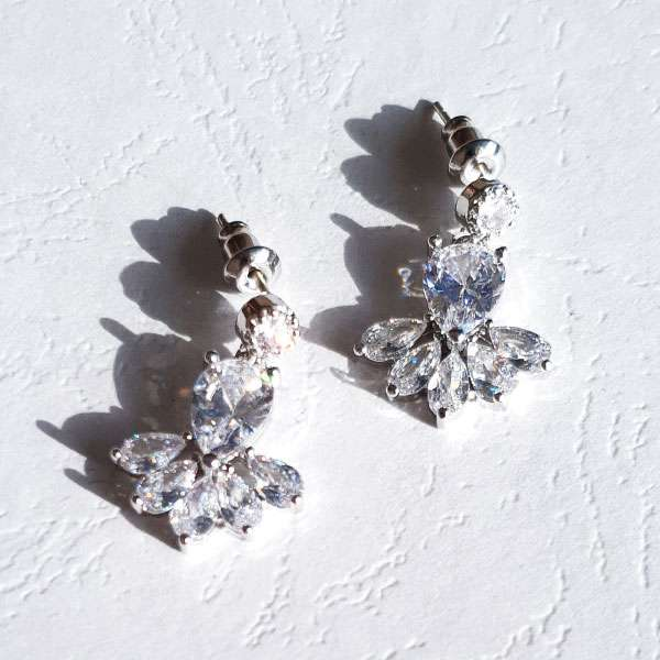 Eden Crystal earrings