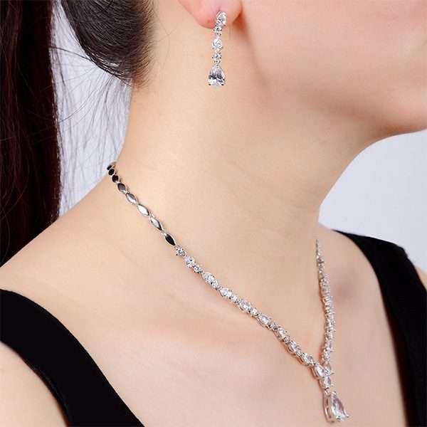 Cubic Zircon jewellery Set