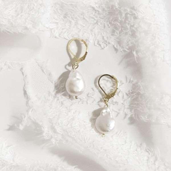 Minimalist Bridal earrings