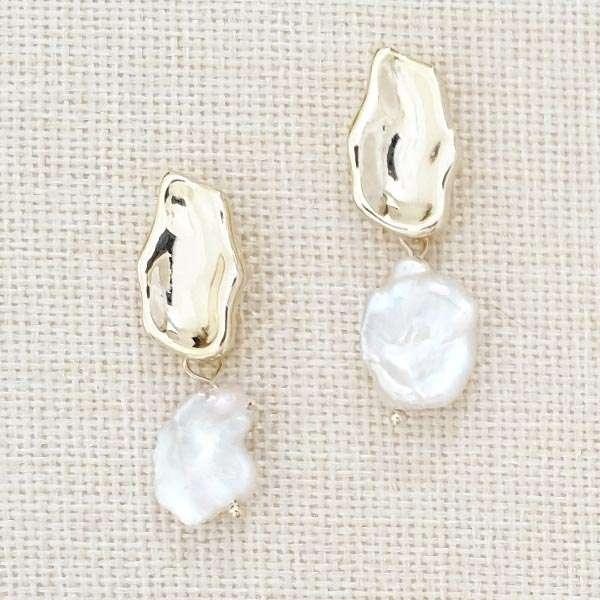 Pearl baroque jewellery
