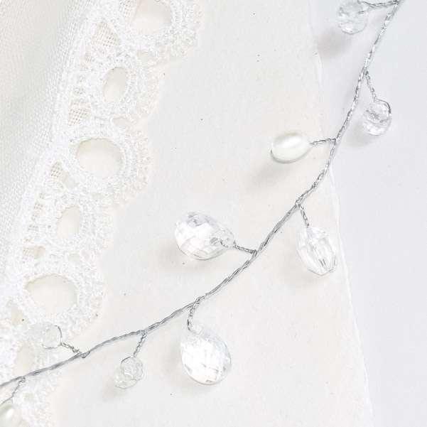 Rice pearl hair vine