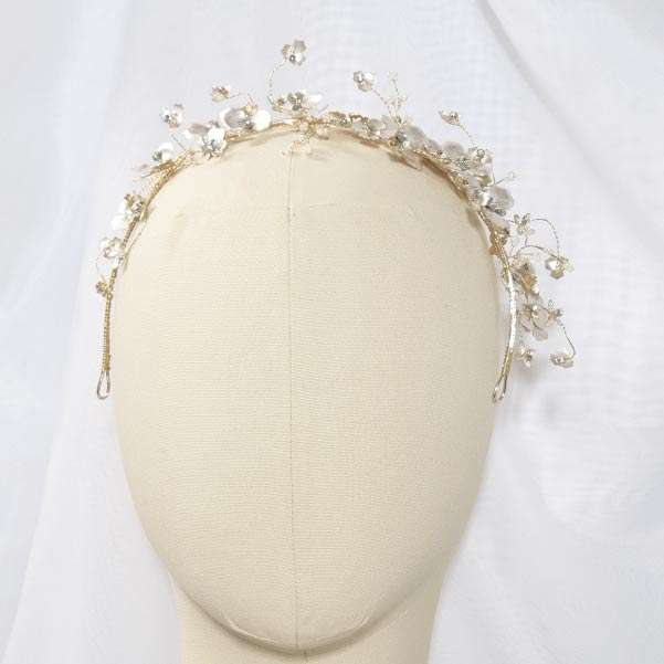 floral whispy headband