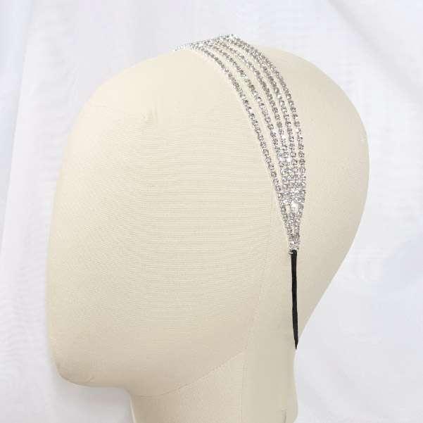 Bridal chain hair