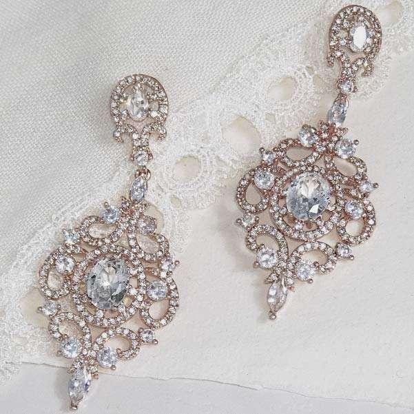 Rose bridal accessories