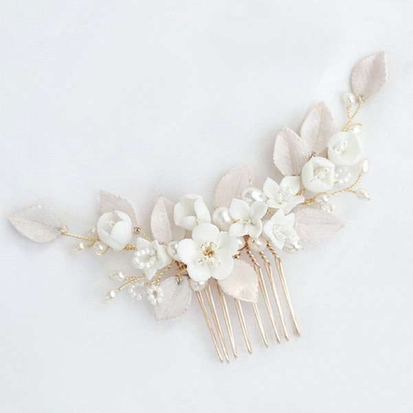 Porcelain haircomb