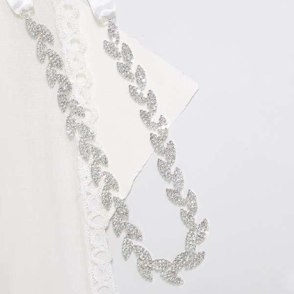 Silver Diamante belt