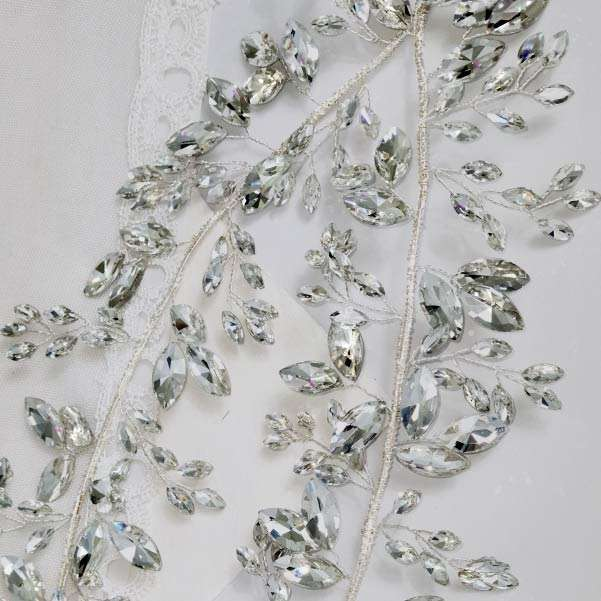 Wedding crystal headband