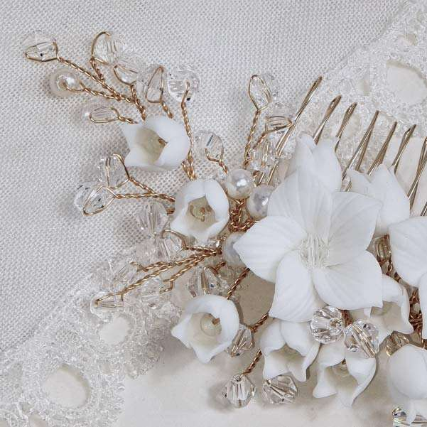 Off white Ivory Flower