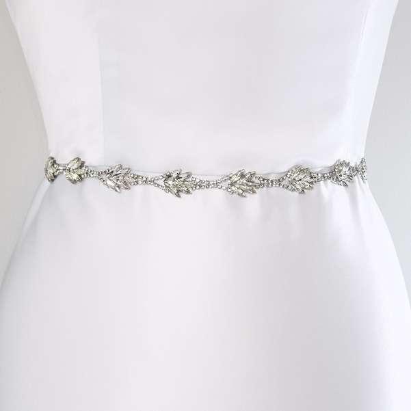 Silver sash