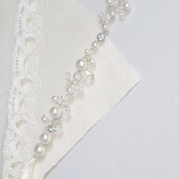 Pearl dress belt