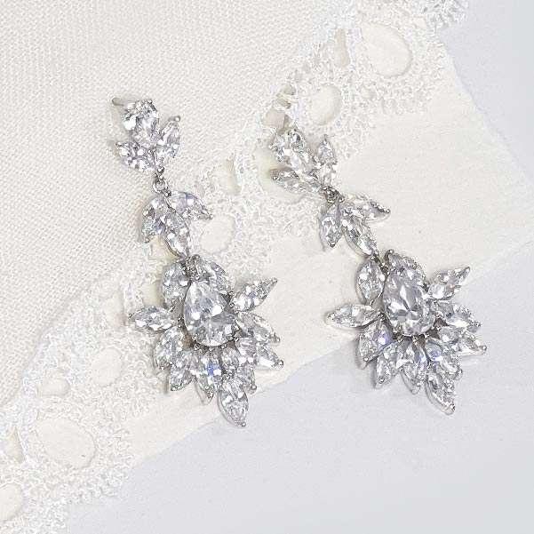 Amilla Silver earrings