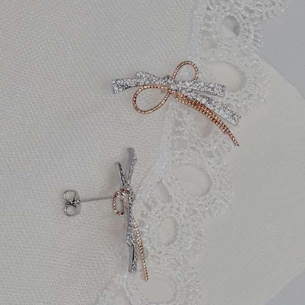 Rose wedding jewellery