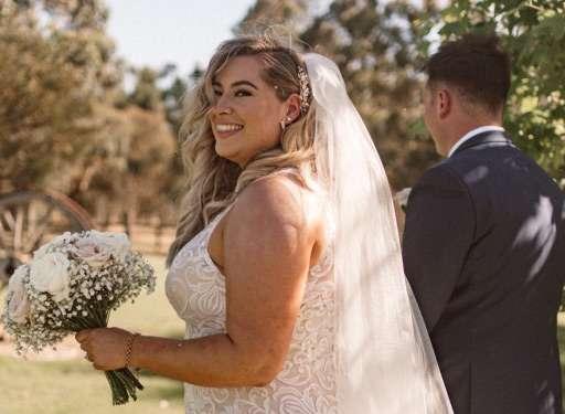 REAL WEDDING Holly+Josh