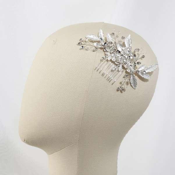 Silver wedding comb