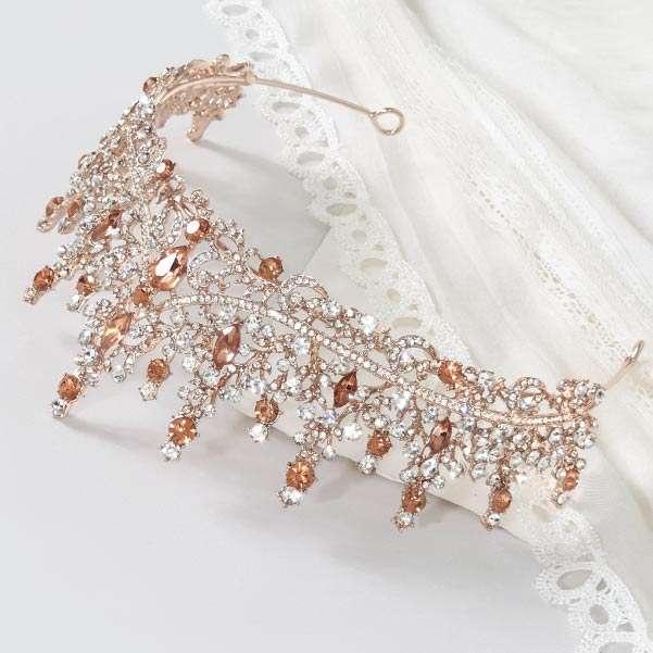 Rose Bridal Crown