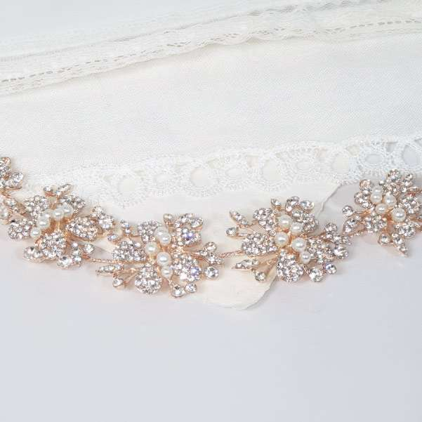 Rose Bridal Hairpieces