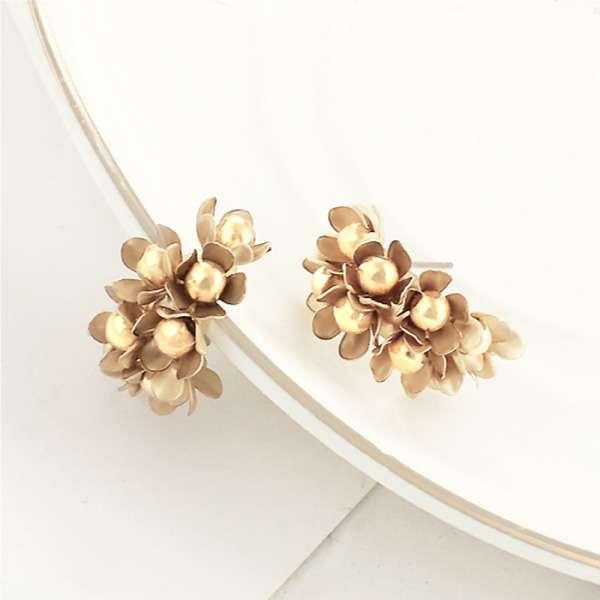 Posy petal earrings